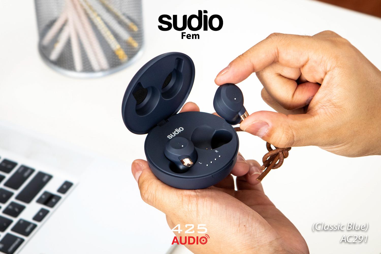 sudio fem,sudio,fem,noise cancelling,หูฟังมีไมค์,หูฟังไร้สาย,หูฟังราคาถูก,true wireless